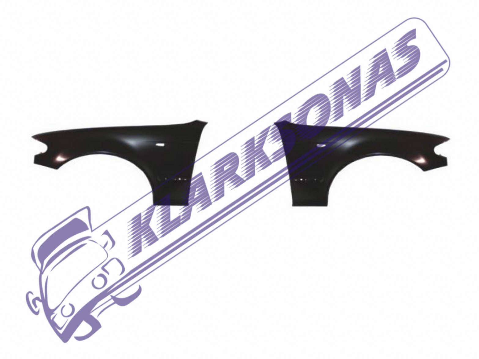 BMW E46 2001-2005 NEW FRONT FENDER WING PANEL SET LEFT RIGHT